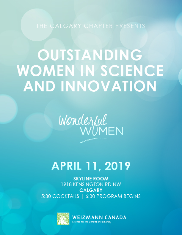 Event Flyer - Calgary Women in Science